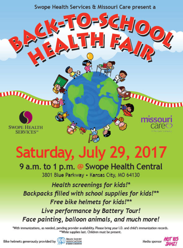 Back to School Health Fair Flyer