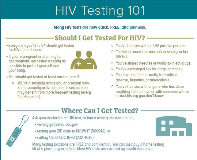 HIV info sheet
