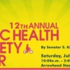 healthfair flyer
