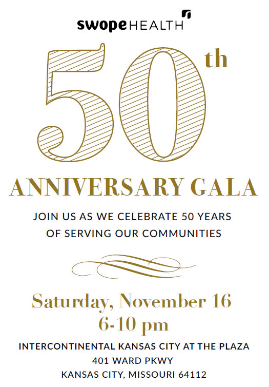 Swope Health 50th Anniversary Gala