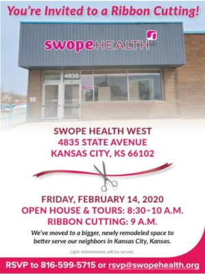 Swope Health West Open House on 2/14/20