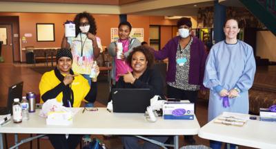 Swope Health : COVID-19 Lobby Screening